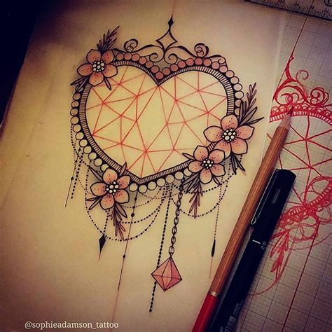 tattooed heart background vocals heart frame tattoo designs www pixshark com images