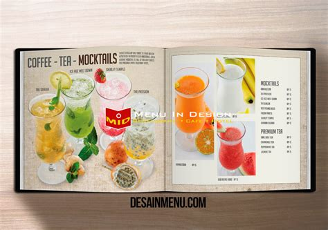 design menu book design menu book