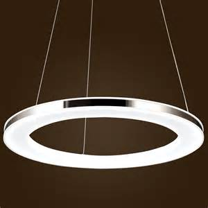 Led Pendant Light Fixtures Acrylic Pendant Ceiling Light Led Modern Chandelier Chic Stainless Steel Plating
