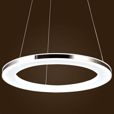 Contemporary Pendant Lighting Acrylic Pendant Ceiling Light Led Modern Chandelier Chic Stainless Steel Plating Ebay