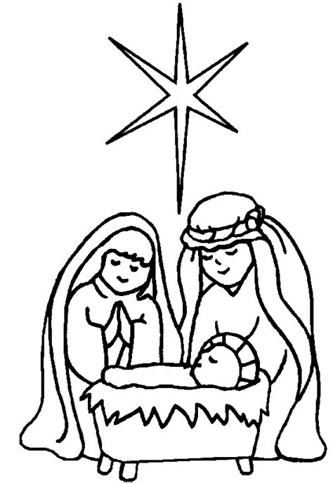 nativity coloring pages coloring pages to print
