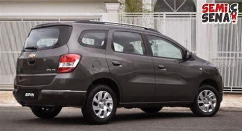 Kas Rem Mobil Chevrolet Spin Harga Chevrolet Spin Review Spesifikasi Semisena