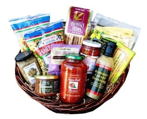 trader joe s gift baskets trader joe s italian and baskets on