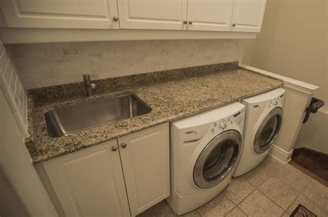 Countertops Reno by Laundry Room Reno With Granite Countertops Laundry Room