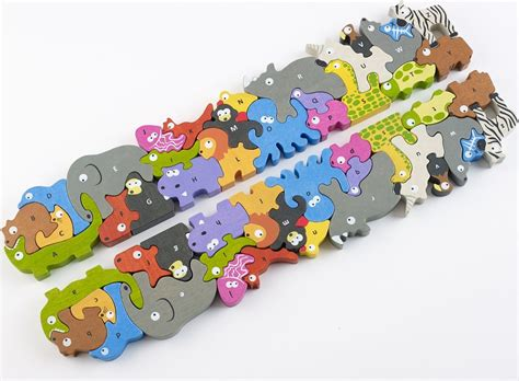 Puzzle Animal pin puzzle animaux on