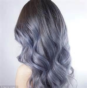 washing colored hair denim hair is the trend as dye their hair