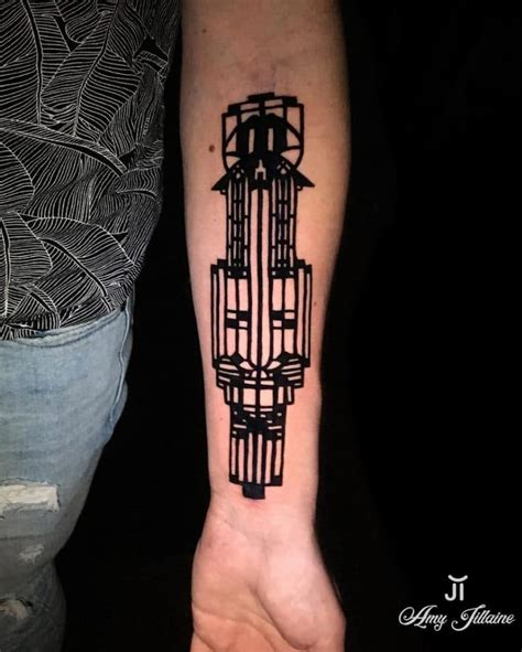lloyd tattoos frank lloyd wright inspired tattoos frank lloyd wright