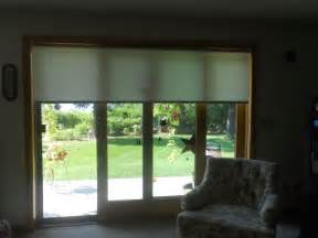 Roller Shades For Sliding Patio Doors Patio Door Blinds And Shades Inspiration And Ideas Nh