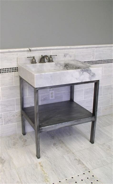 Wrought Iron Bathroom Vanities by Vanities Wrought Iron And Eclectic Bathroom