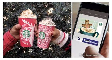 Can You Load Starbucks Gift Card To App - starbucks free 10 bonus e gift when you add 10 to app using visa checkout