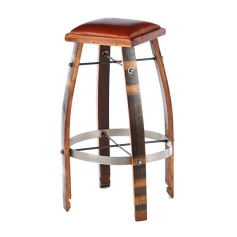 Wine Stave Bar Stools by 2 Day Designs Wine Barrel Bar Stools Or Chocolate