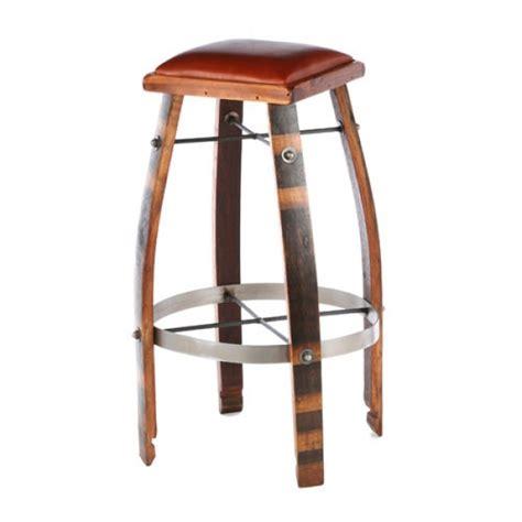 Barrel Bar Stools by 2 Day Designs Wine Barrel Bar Stools Or Chocolate