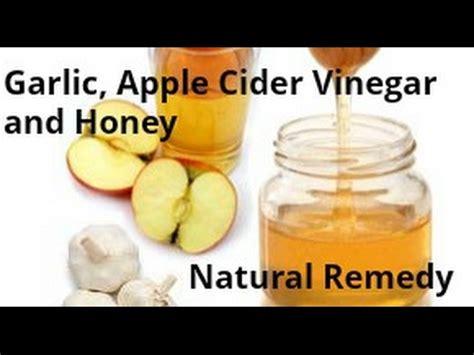 Garlic And Honey Detox by Garlic Lemon Apple Cider Vinegar Potion