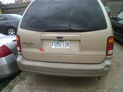 2005 ford windstar ford windstar 2005 model with a mileage 85719 for n575 000