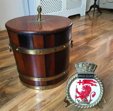 bathtub rum grandson reveals unique rum tub from battle of jutland uk news express co uk