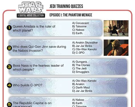 printable star wars quiz questions star wars jedi training quizzes disney family