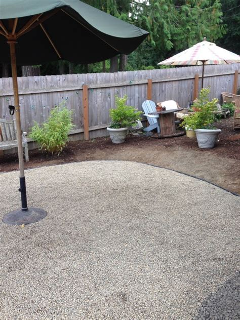 Pea Gravel Backyard by Triyae Pea Gravel Backyard For Dogs Various Design