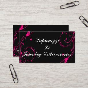 Paparazzi Consultant Business Cards