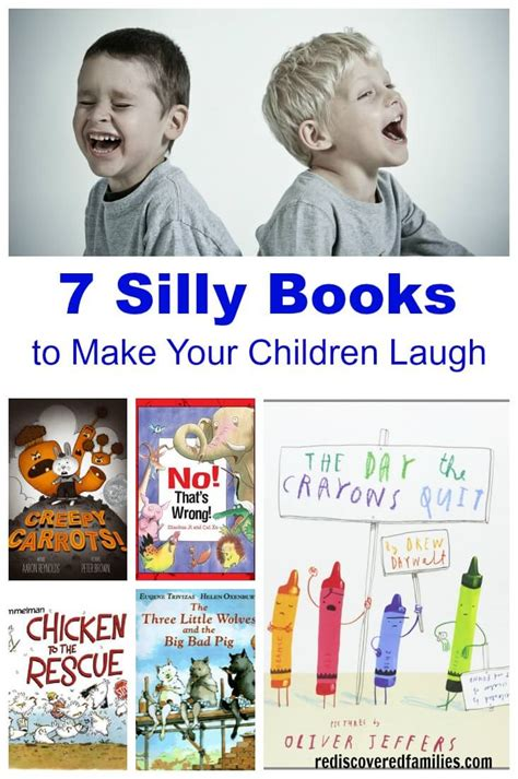 7 Books Your Will by 7 Silly Books To Make Your Children Laugh
