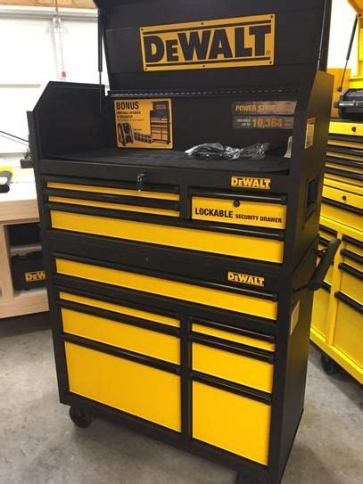 tool chest and rolling cabinet dewalt 40 in 11 drawer black tool chest and rolling tool