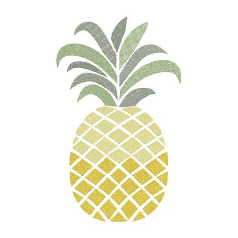 pina design pineapple machine embroidery design