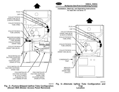 carrier weathermaker 8000 parts diagram carrier 58mxa furnace with pressure switch error