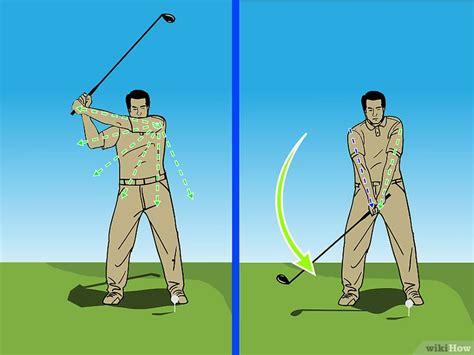 how to swing the driver een driver slaan wikihow
