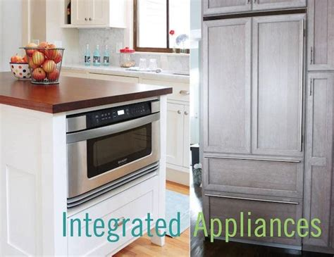 integrated kitchen appliances five reasons to use integrated kitchen appliances