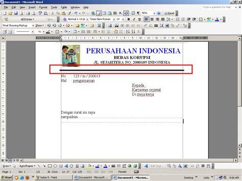 Membuat Garis Di Ms Word 2003 | cara menebalkan variasi garis di ms word 2003 belajar