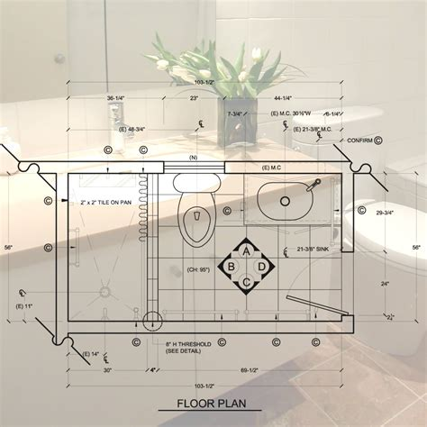 5 x 10 bathroom floor plans decoration ideas bathroom ideas 8 x 10