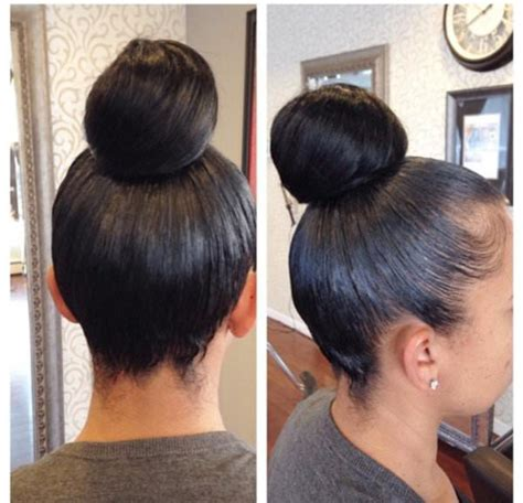 pics of black women pretty big hair buns with added hair bun life by kaila hairbyvanitystudio black hair information