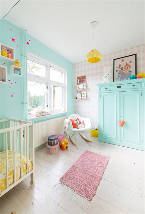 colorful nursery the cutest colourful nursery i want that
