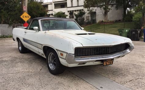 ranchero car thunder jet are go 1970 ford ranchero gt