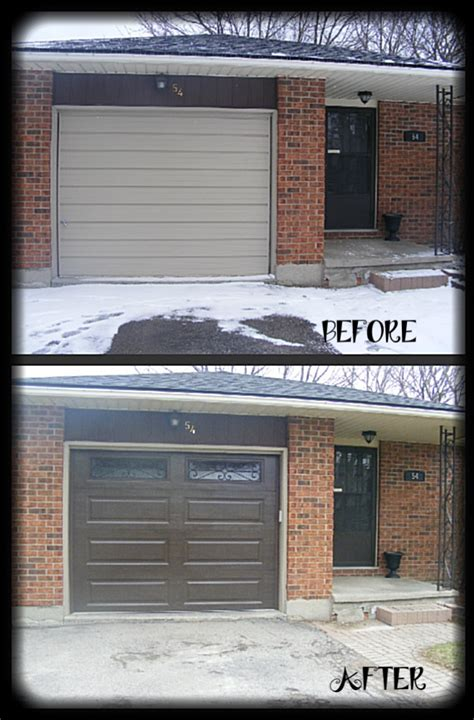 Clopay Premium Series Steel Garage Door In Chocolate Brown Clopay Garage Door Windows