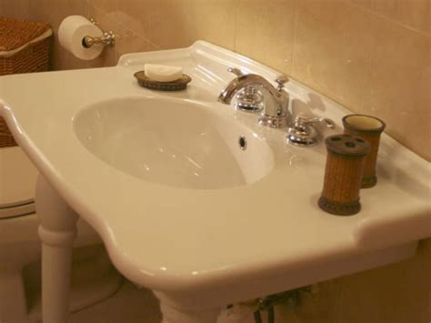 replace sink faucet bathroom how to replace a leaky bathroom faucet hgtv