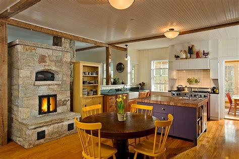 kitchen fireplace ideas trends give your kitchen a sizzling makeover with a