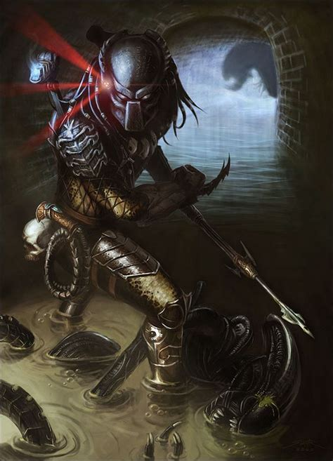 Vs Predator Warrior predator yautja hish humanoid xenomorph planet yautja prime conqueror adaptive