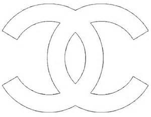 channel logo template chanel logo stencil crafts chanel
