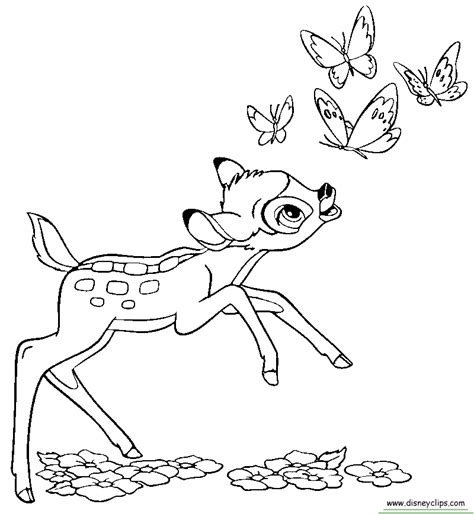 bambi coloring pages pdf disney bambi coloring pages featuring bambi thumper and