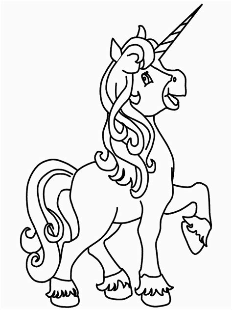 unicorn coloring pages coloringpagescom