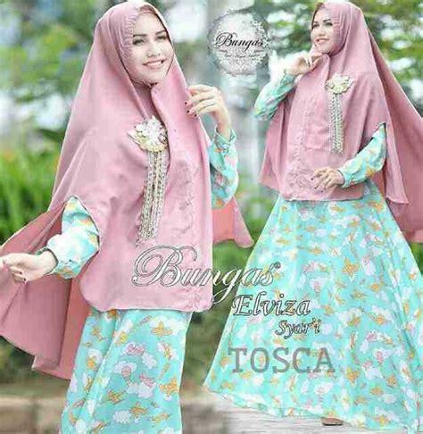 Motif Baju Muslim Terbaru model baju gamis syari muslimah modern motif cantik terbaru