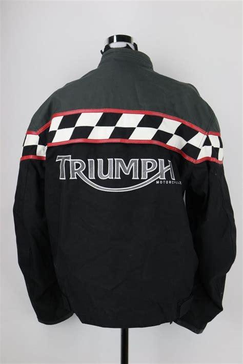 Triumph Motorradjacke by Triumph Motorradjacke Biker Motorrad Jacke Gr Xl Protektoren