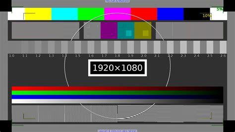 full hd video test pin hd test pattern on pinterest