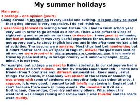 Essay About Summer Holidays by How To Write Essay In рекомендации