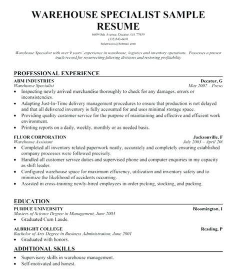 Inventory Skills Resume by Lovely Inventory Skills Resume Gallery Resume Ideas Namanasa