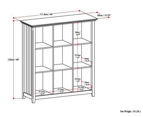 simpli home acadian ladder shelf bookcase rich tobacco brown amazon com simpli home acadian 9 cube storage bookcase