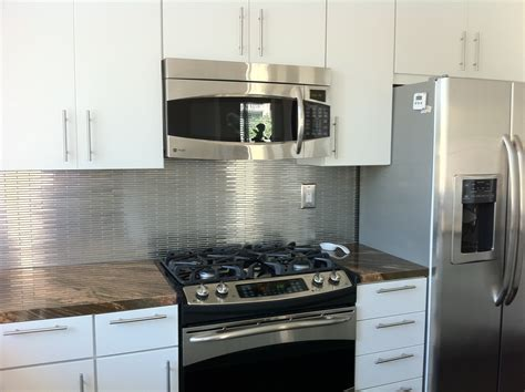 Backsplash Tiles Peel And Stick With Modern Aspect Peel Aspect Stainless Steel Backsplash