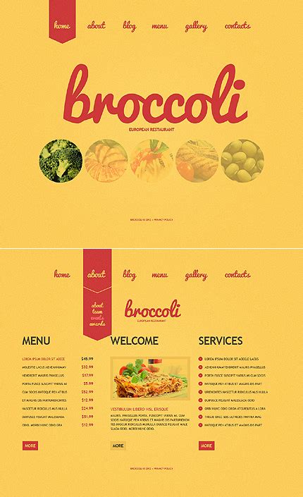 Restaurant Menu Templates Photoshop menu template category page 1 sawyoo