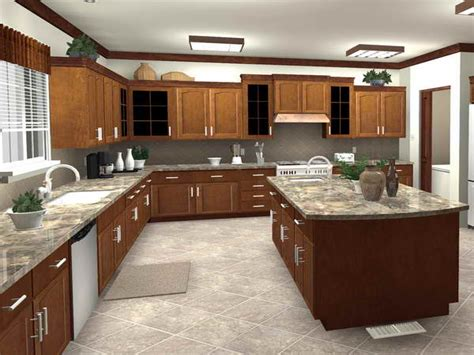Free Kitchen Design Planner by Apartments Kitchen Floor Planner In Modern Home