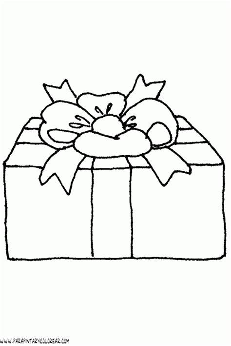 imagenes de navidad para colorear regalos dibujos navidad para colorear regalos 007
